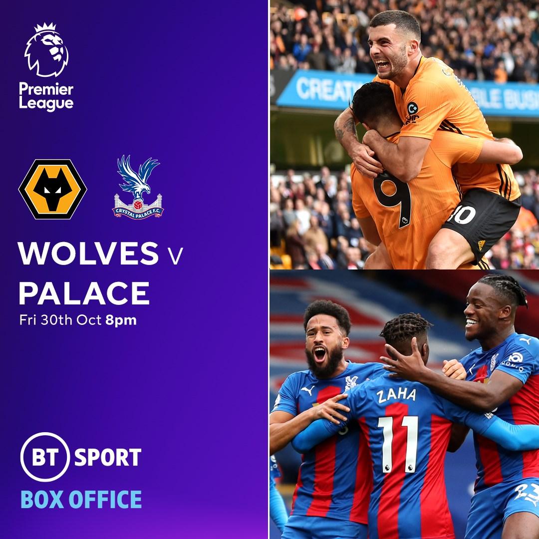 Wolves v Crystal Palace (Premier League)