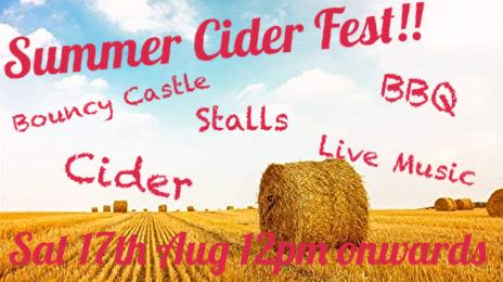 Summer Cider Fest!!!!
