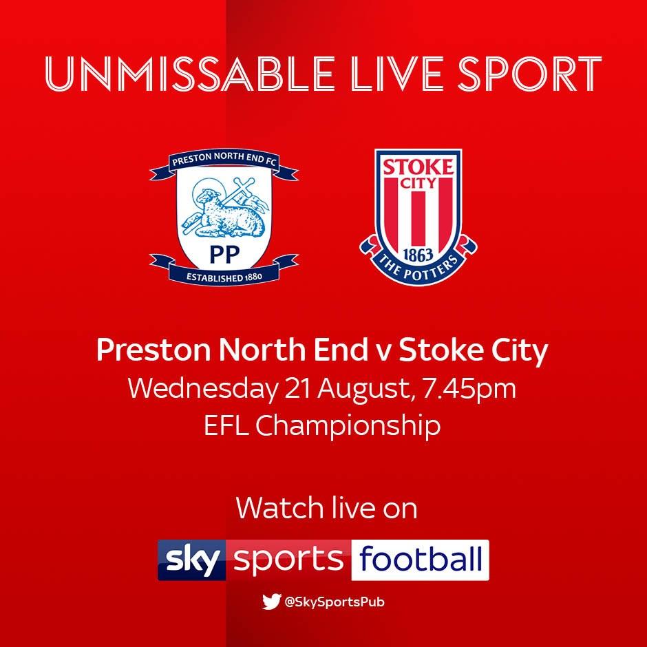 Preston North End v Stoke City (Football League)