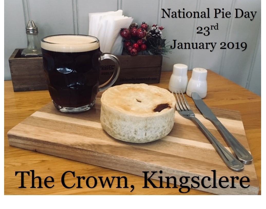 Pie and a pint - National Pie Day