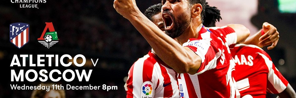 Atletico Madrid v Lokomotiv Moscow (Champions League)