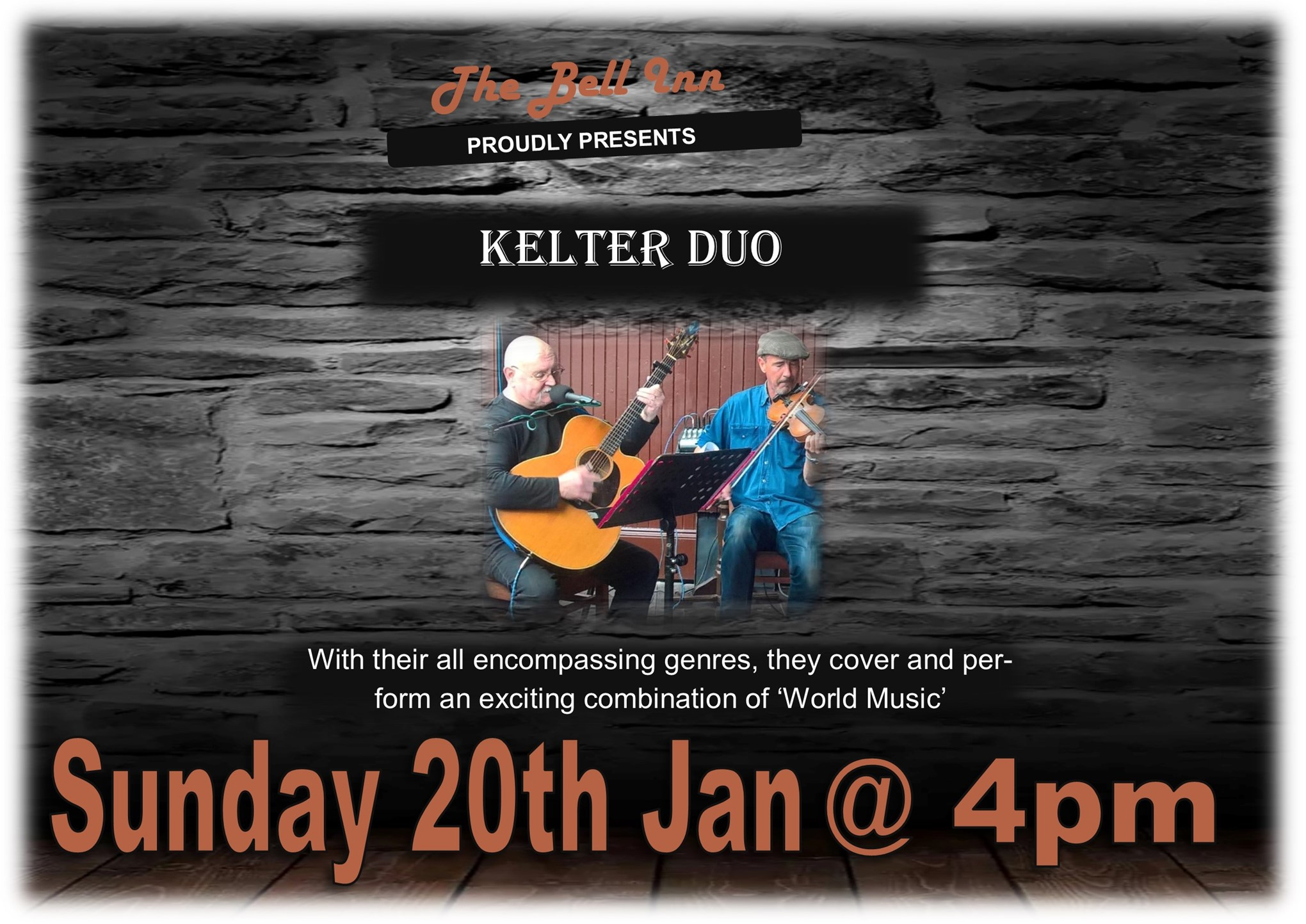 Sunday Chill Out Session with Kelter Duo