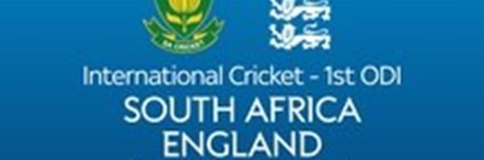 Cricket ODI: South Africa v England (Cricket England ODI)