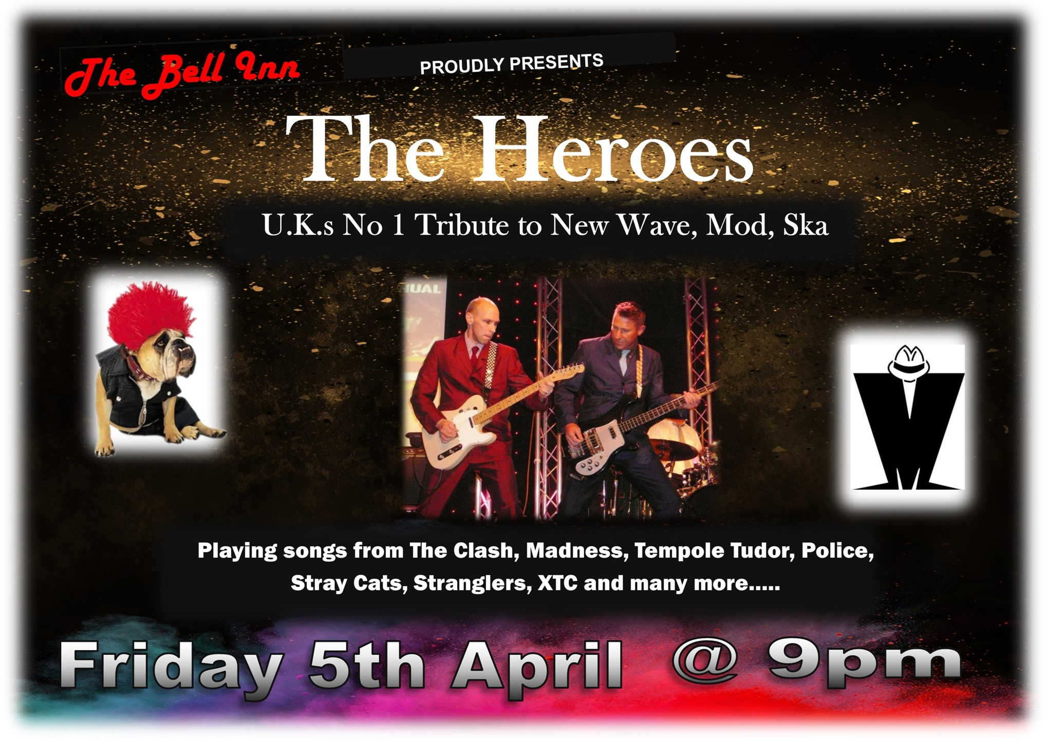 Live Music with The Heroes