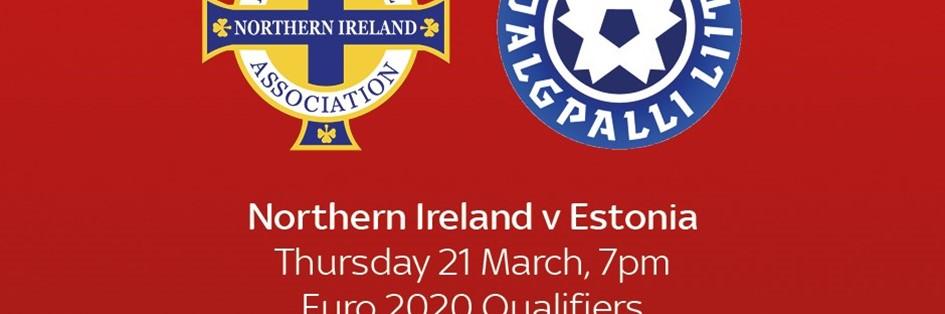 Northern Ireland v Estonia (Euro 2020)
