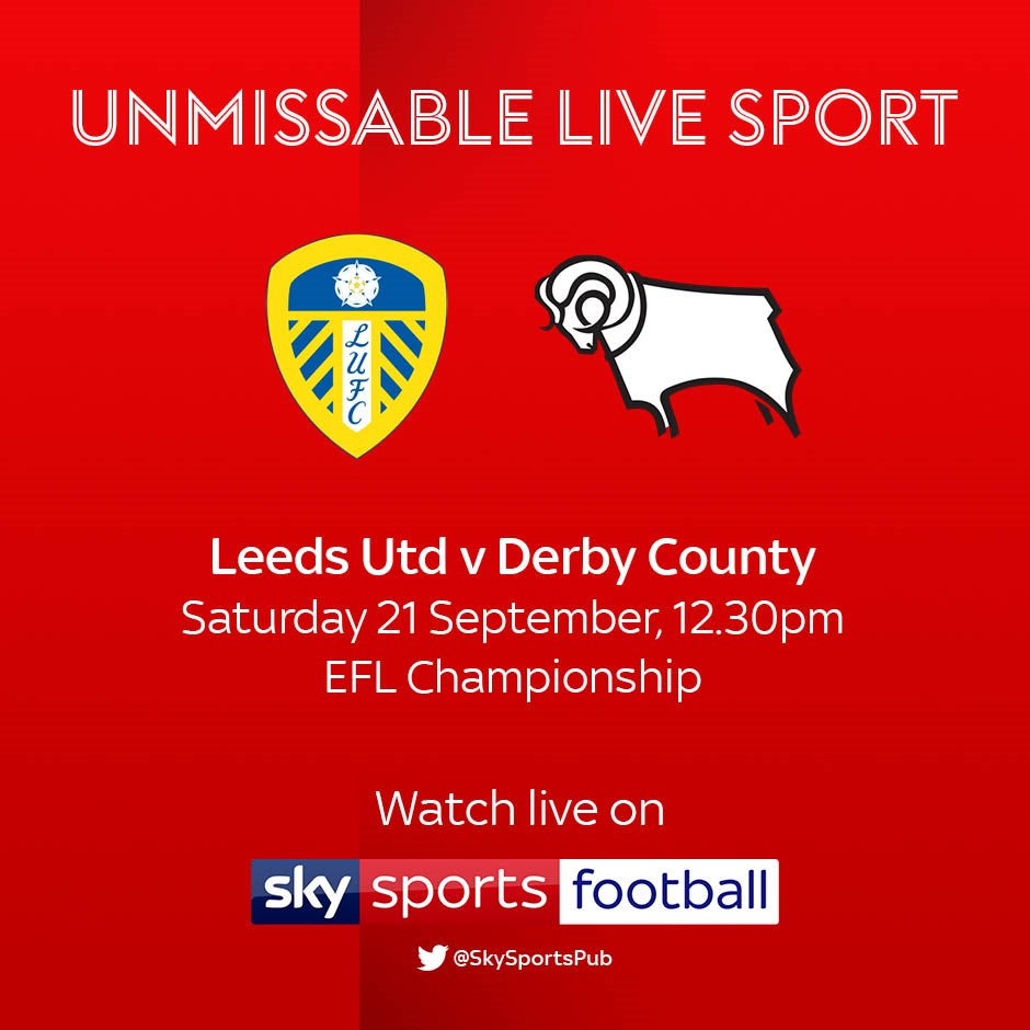Leeds United v Derby County (Football League)