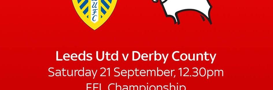 Leeds United v Derby County (Football League)