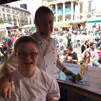 Ashley & Ben's Cookery Demonstration at Countryside Live event at the Yorkshire Showground, Harrogate