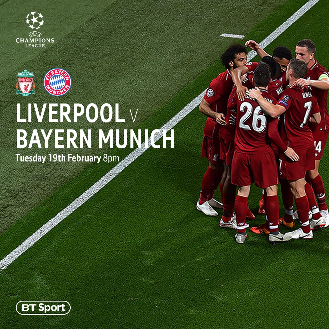 Liverpool v Bayern Munich (Champions League)