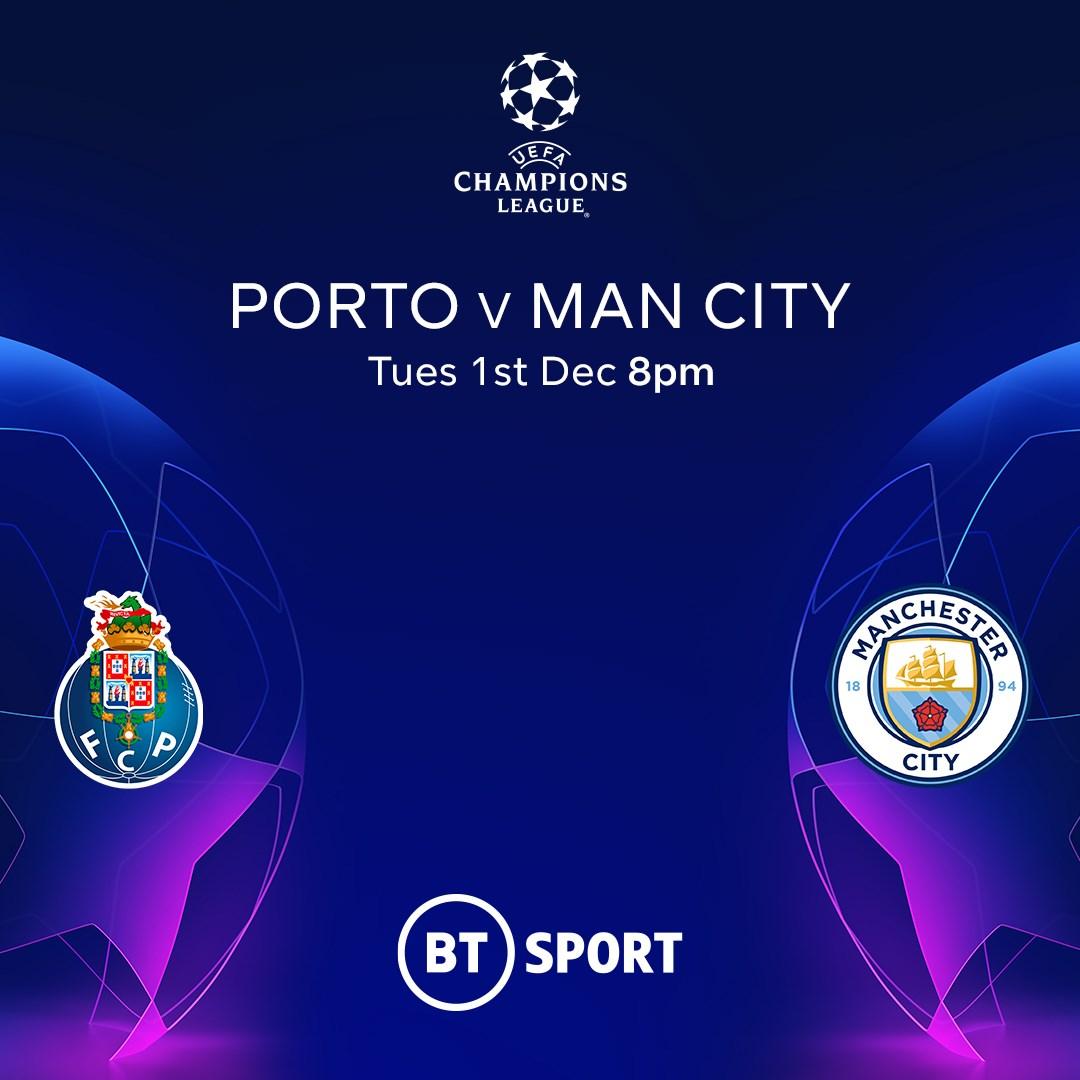 Porto v Manchester City (Champions League)