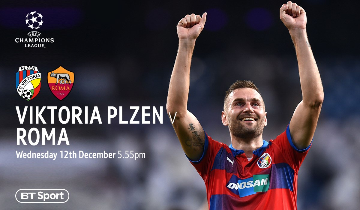 Plzen v Roma (Champions League)