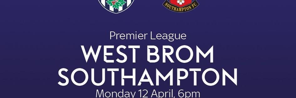 West Bromwich Albion v Southampton (Premier League)