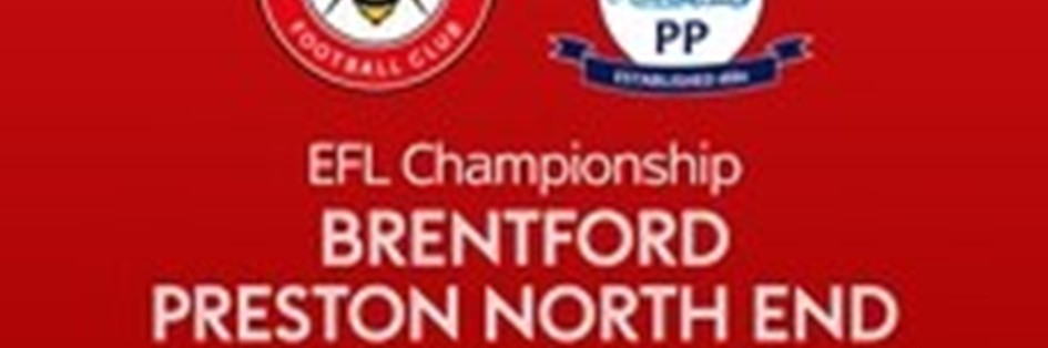 Brentford v Preston North End (Football League)