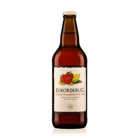 Rekorderlig Cider Strawberry - Lime