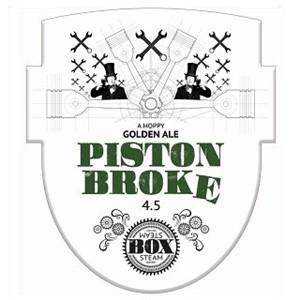 Box Steam Brewery Piston Broke