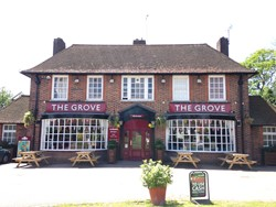 The Grove A Child Friendly Pub With Sky Tv And A Garden In Welwyn Garden City
