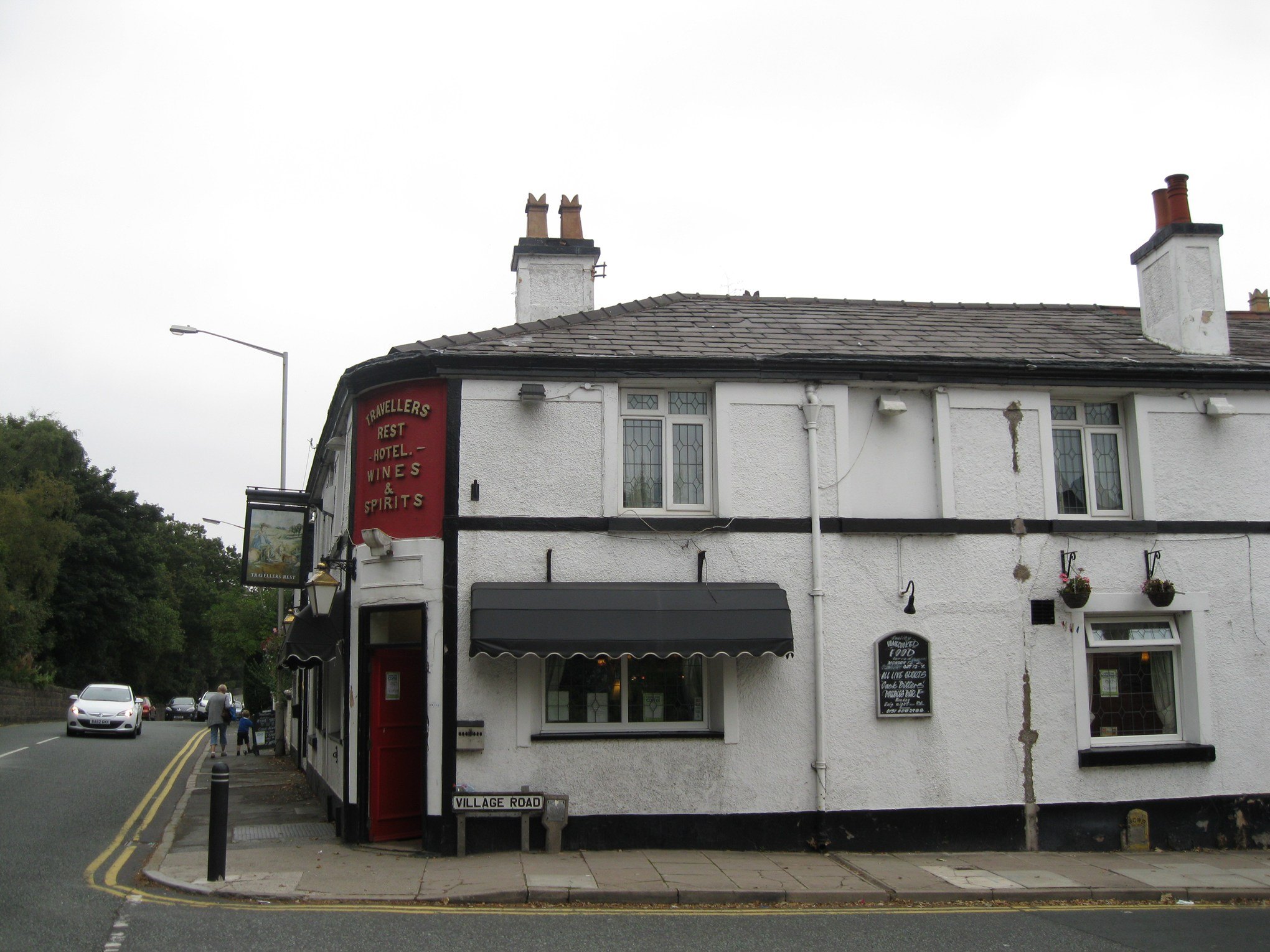 The Travellers Rest Bebington A pub serving food in Wirral