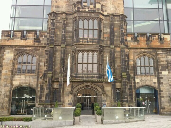 The Glasshouse Hotel A venue serving food and a garden in Edinburgh