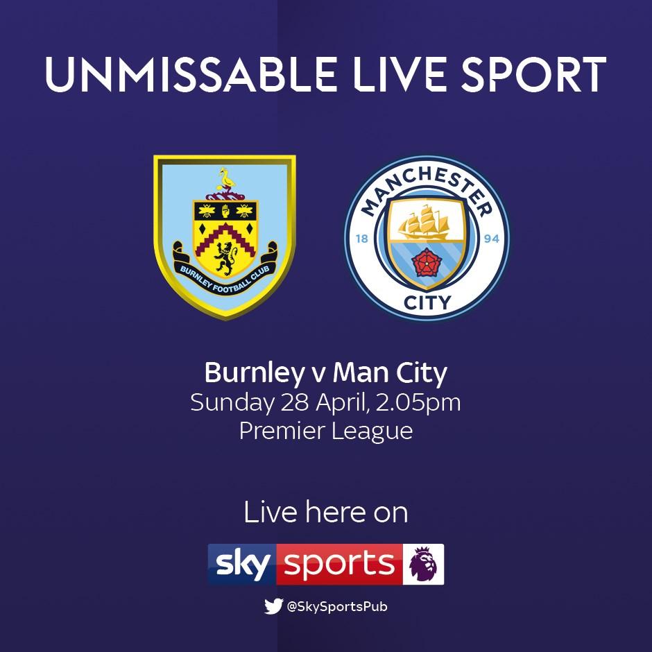 Burnley v Manchester City (Premier League)