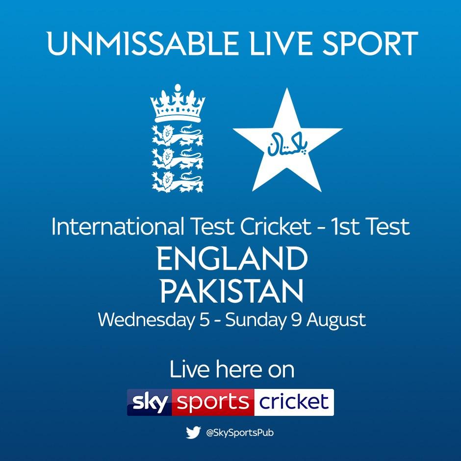 Cricket Test Match: England v Pakistan (Cricket England Test Match)
