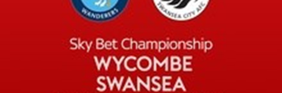 Wycombe Wanderers v Swansea City (Football League)
