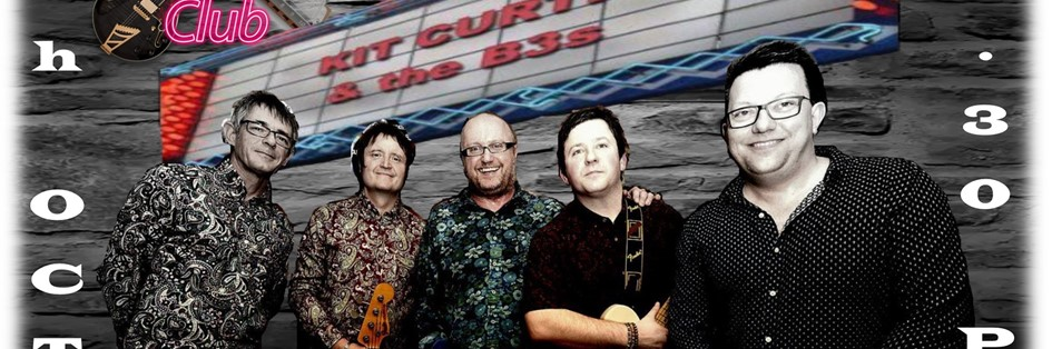 Saturday Blues Club with Kit Curtis & The B3's