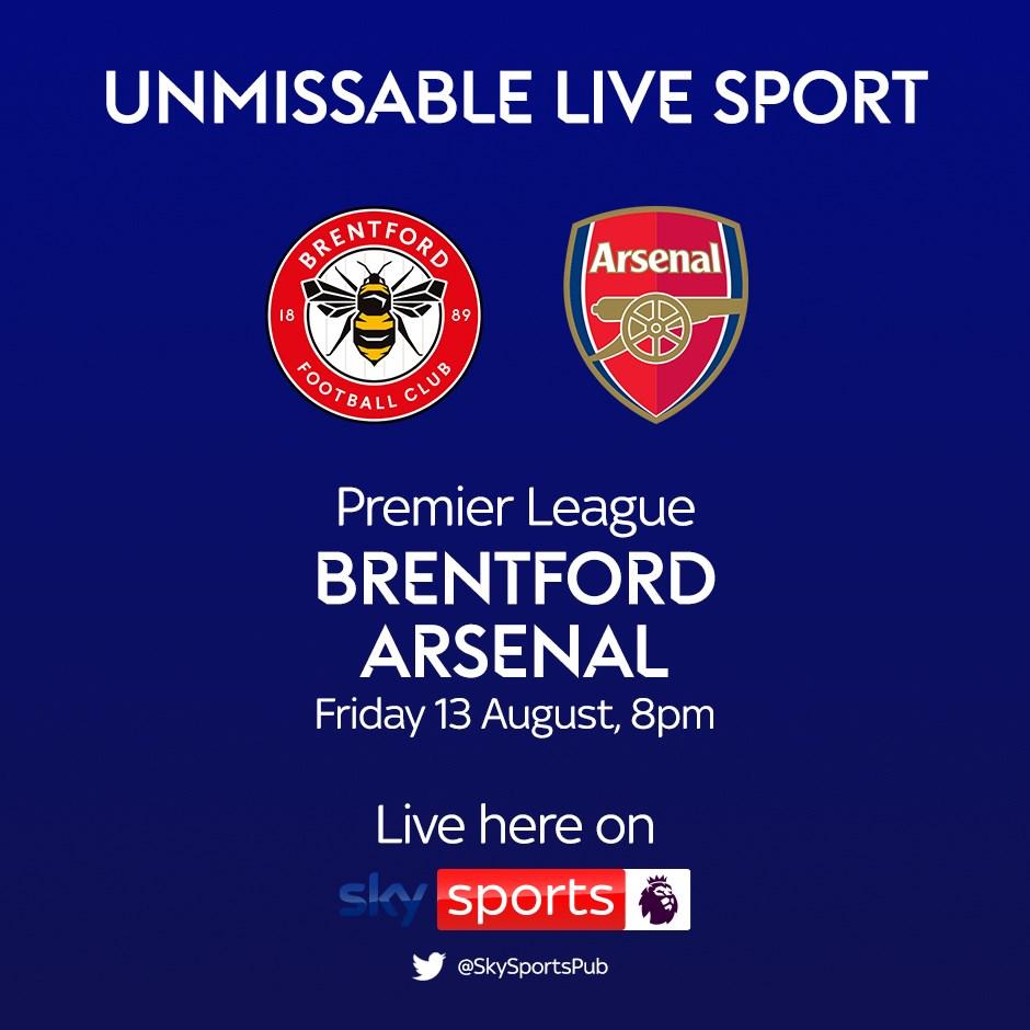 Brentford v Arsenal (Premier League)