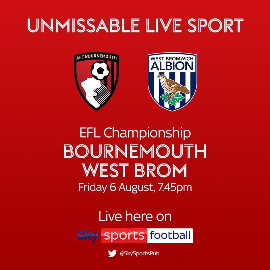 Bournemouth v West Brom (Football League)
