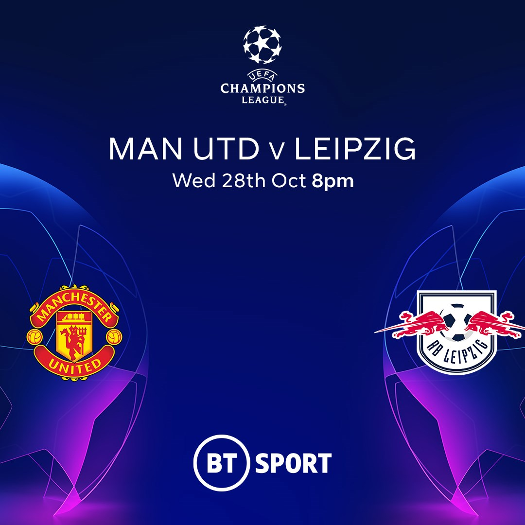 Manchester United v RB Leipzig (Champions League)