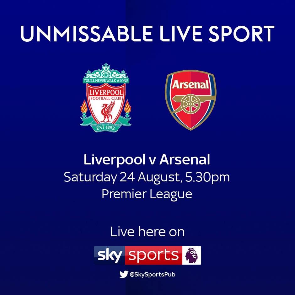 Liverpool v Arsenal (Premier League)