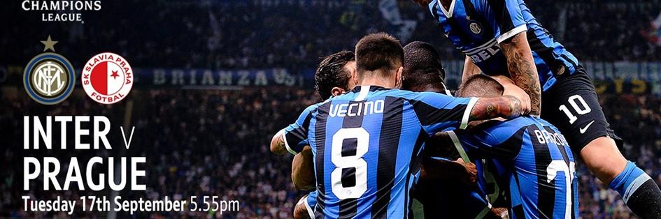 Inter Milan v Slavia Prague (Champions League)