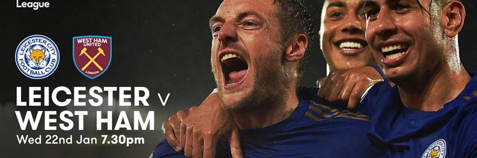 Leicester City v West Ham United (Premier League)