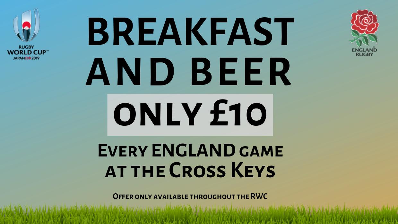 Breakfast and Beer - England RWC