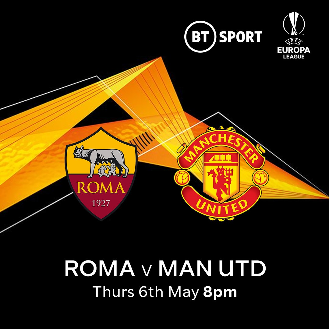 Roma v Manchester United (Europa League)