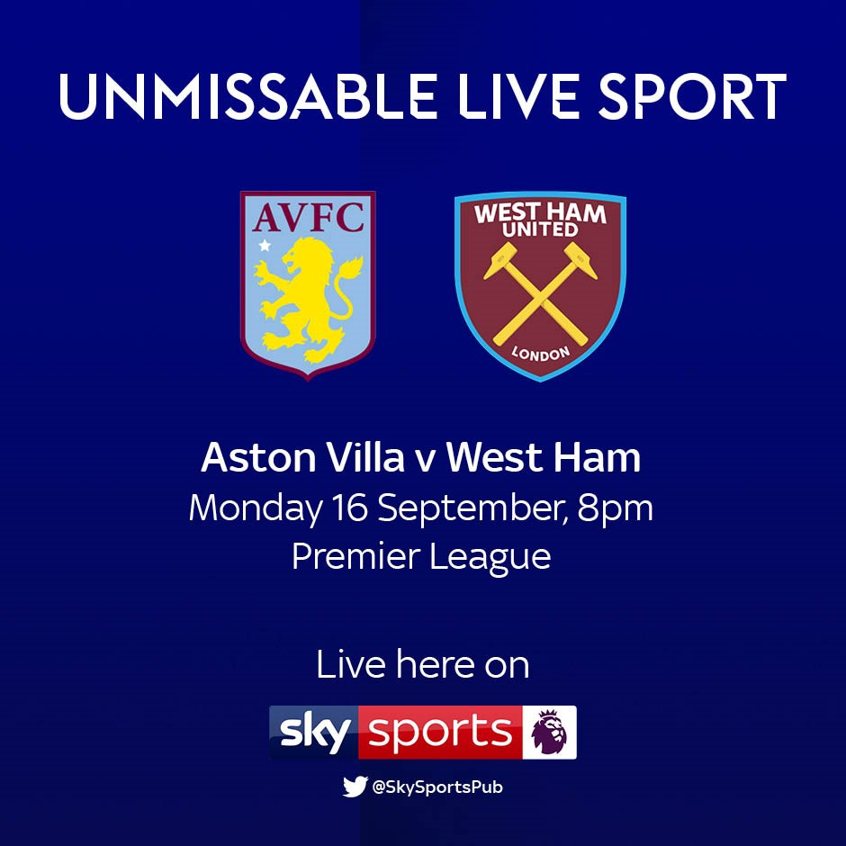 Aston Villa v West Ham (Premier League)