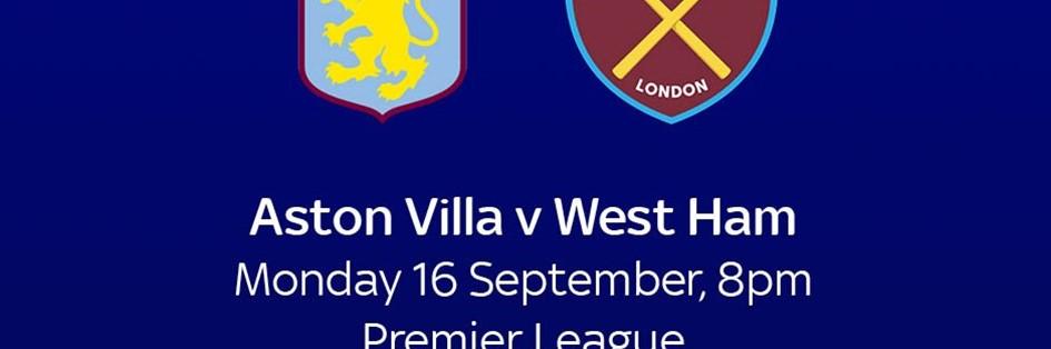 Aston Villa v West Ham (Premier League)