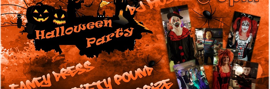 Halloween Party with DJ Mossy