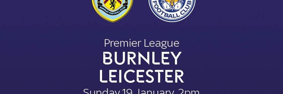 Burnley v Leicester City (Premier League)