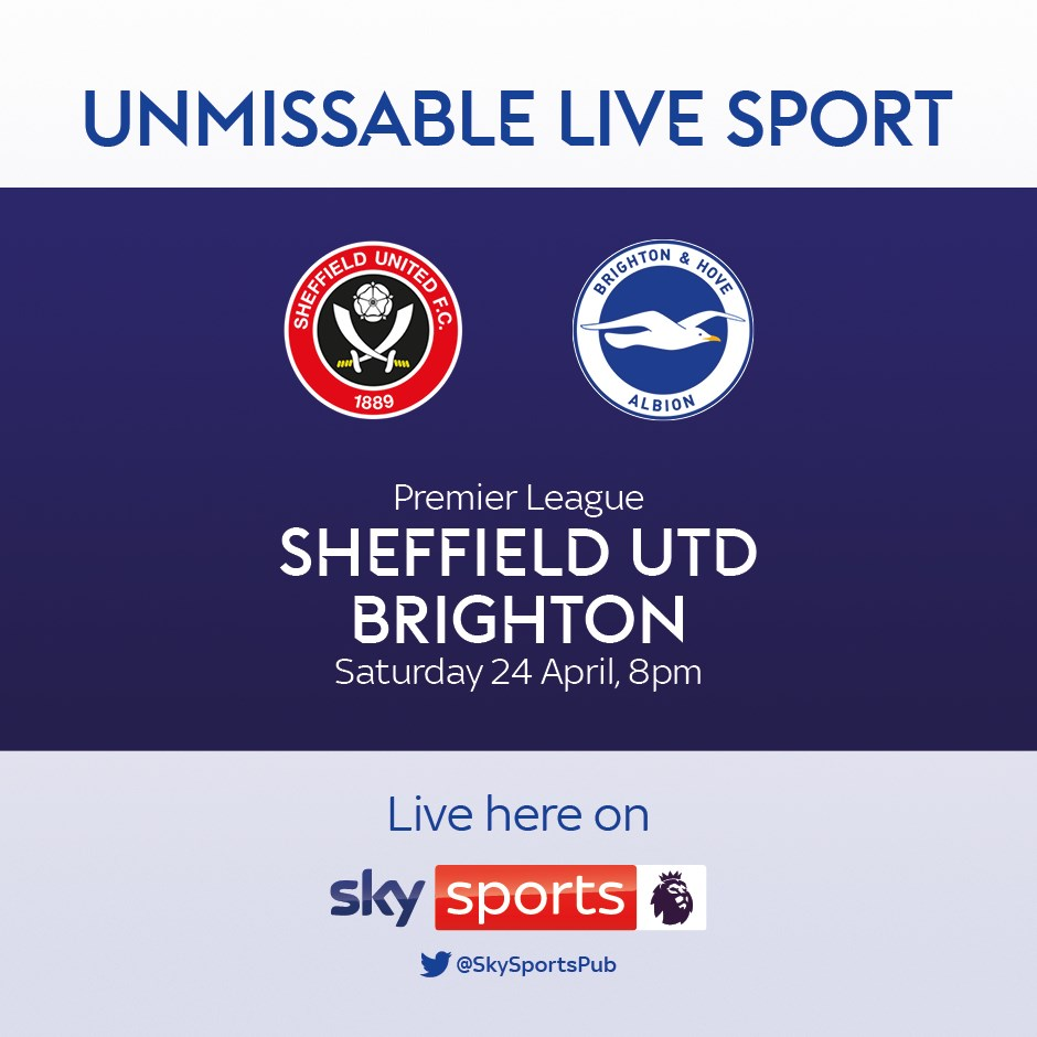 Sheffield United v Brighton Hove Albion (Premier League)