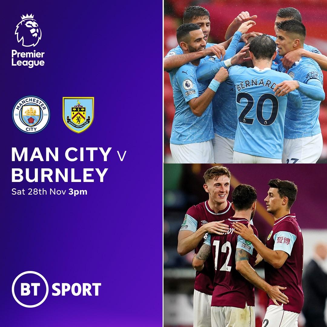 Manchester City v Burnley (Premier League)