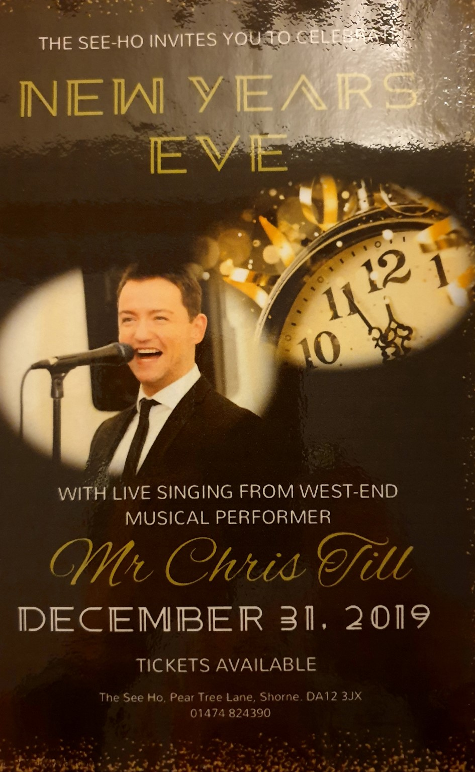 NEW YEARS EVE WITH CHRIS TILL