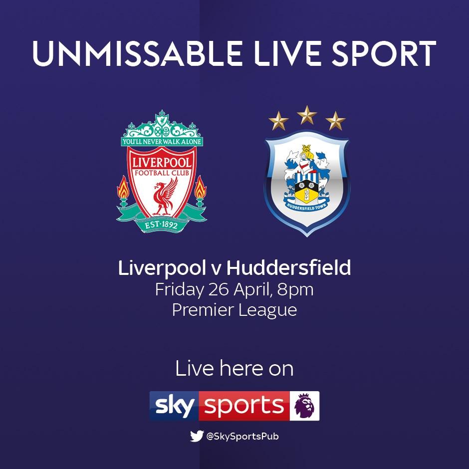 Liverpool v Huddersfield Town (Premier League)
