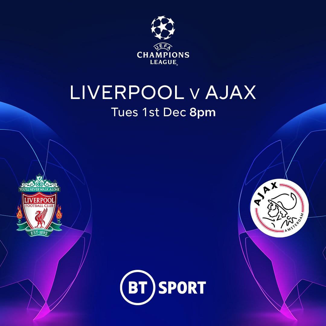 Liverpool v Ajax (Champions League)