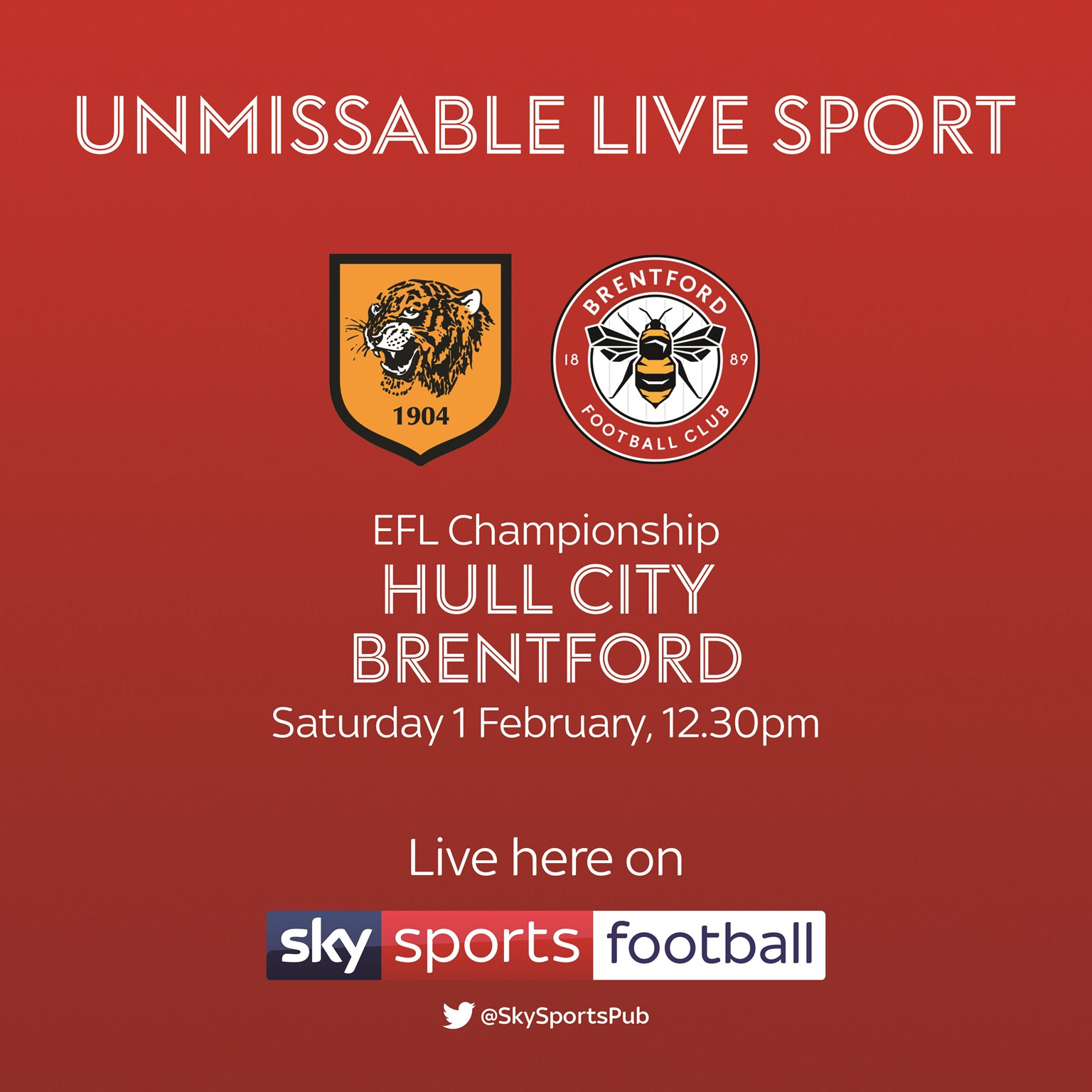 Hull City v Brentford (Football League)