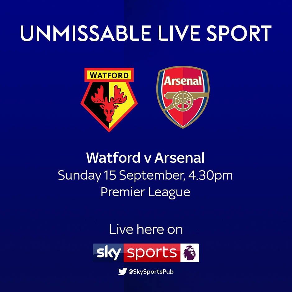 Watford v Arsenal (Premier League)
