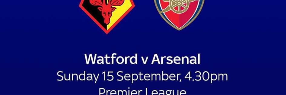Watford v Arsenal (Premier League)