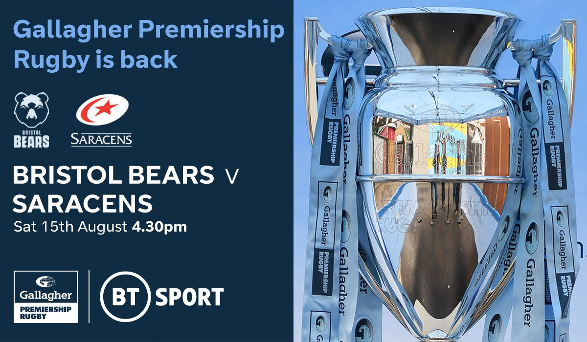 Bristol Bears v Saracens (Rugby Union - English Premiership)
