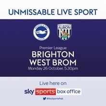 Brighton and Hove Albion v West Bromwich Albion (Premier League)