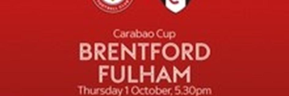 Brentford v Fulham (EFL Cup)