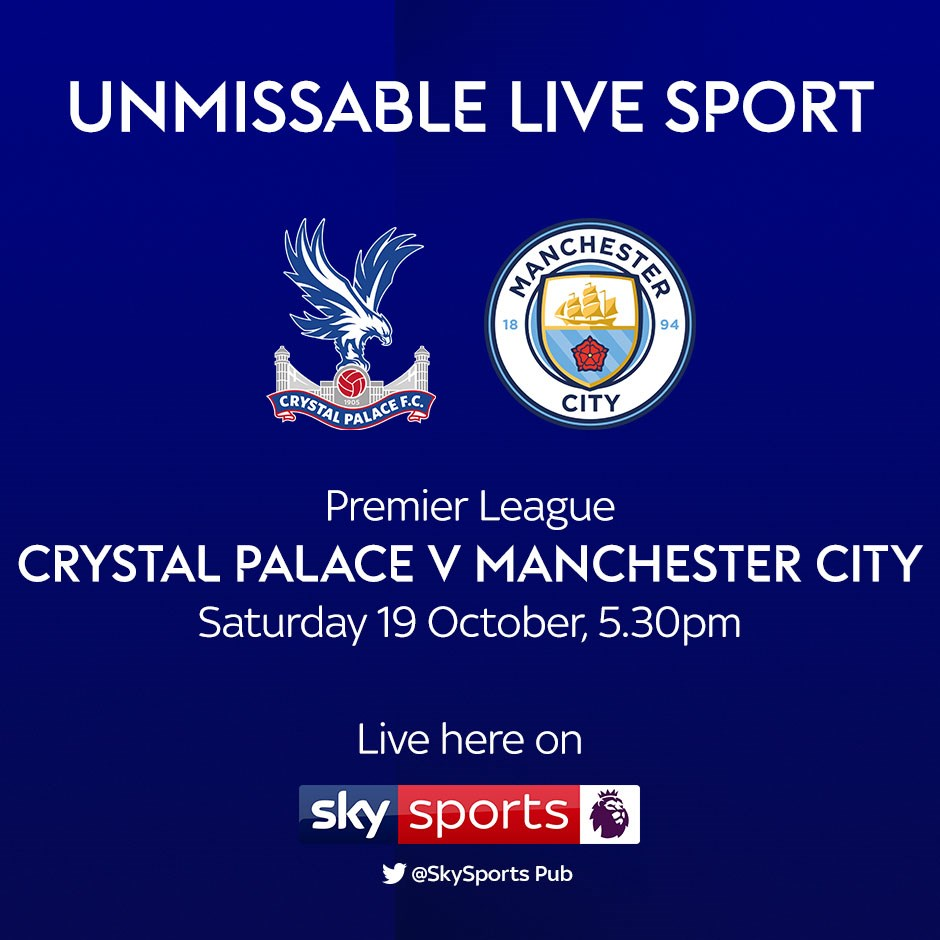 Crystal Palace v Manchester City (Premier League)